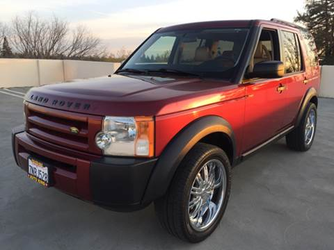 2006 Land Rover LR3 for sale at Auto King in Roseville CA