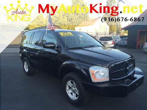 2005 Dodge Durango for sale at Auto King in Roseville CA