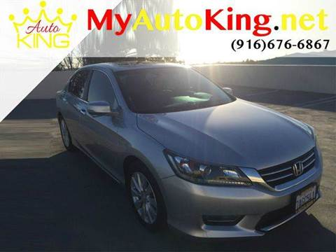 2013 Honda Accord for sale at Auto King in Roseville CA