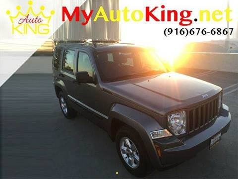 2012 Jeep Liberty for sale at Auto King in Roseville CA