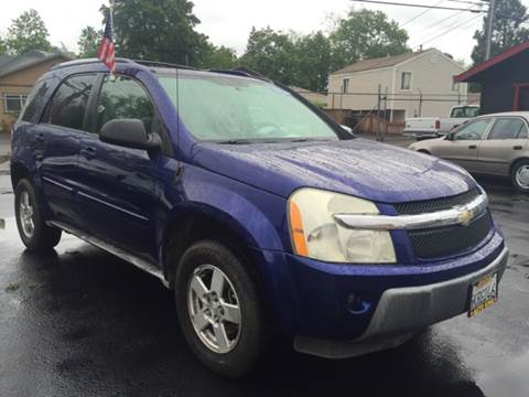2005 Chevrolet Equinox for sale at Auto King in Roseville CA