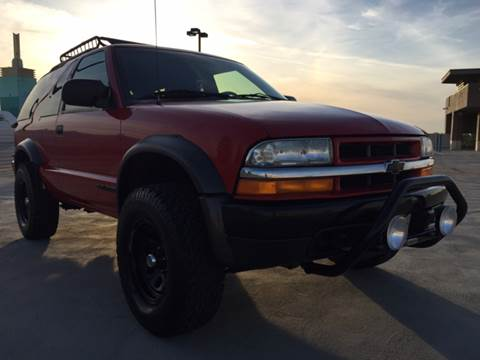2002 Chevrolet Blazer for sale at Auto King in Roseville CA