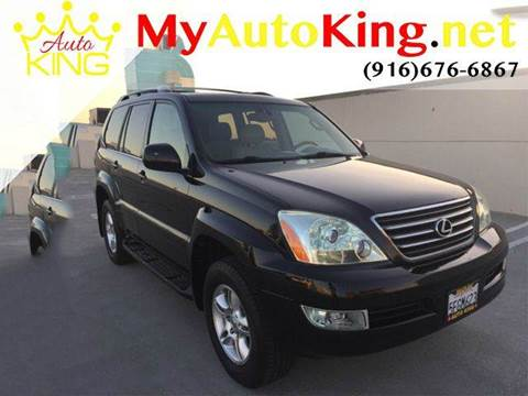 2004 Lexus GX 470 for sale at Auto King in Roseville CA