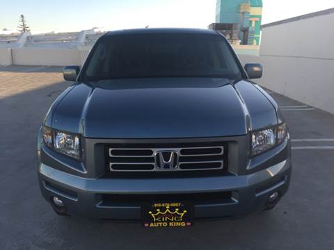 2007 Honda Ridgeline for sale at Auto King in Roseville CA
