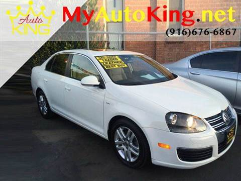 2007 Volkswagen Jetta for sale at Auto King in Roseville CA