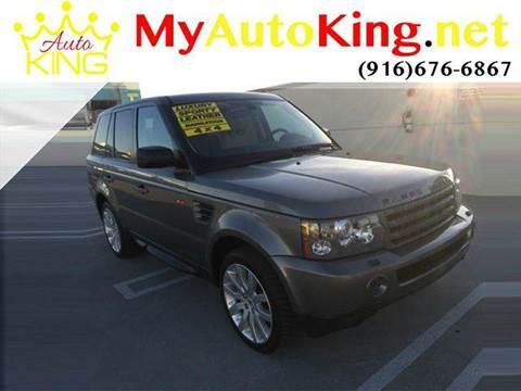 2008 Land Rover Range Rover Sport for sale at Auto King in Roseville CA