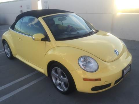 2007 Volkswagen New Beetle for sale at Auto King in Roseville CA