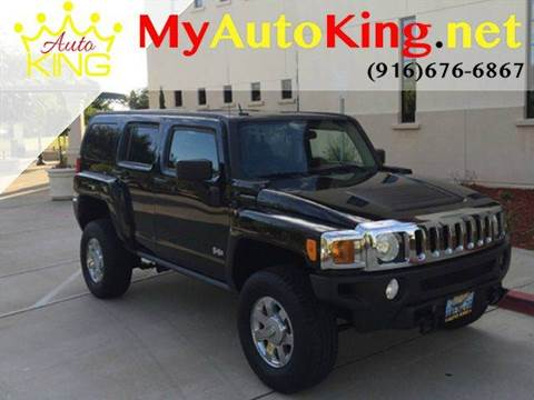 2007 HUMMER H3 for sale at Auto King in Roseville CA