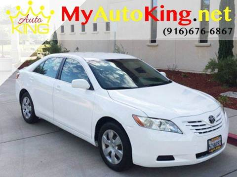 2007 Toyota Camry for sale at Auto King in Roseville CA