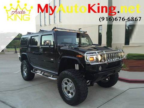 2004 HUMMER H2 for sale at Auto King in Roseville CA