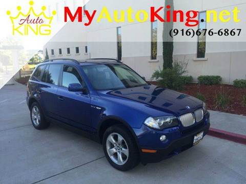 2007 BMW X3 for sale at Auto King in Roseville CA