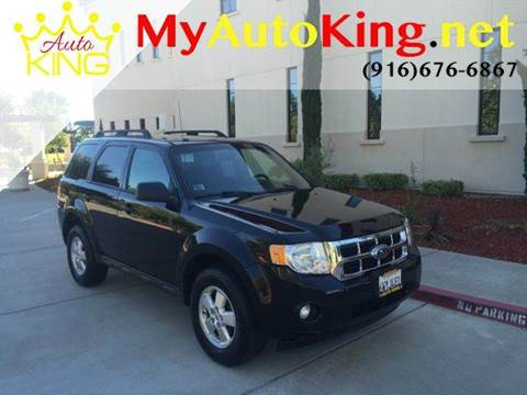 2010 Ford Escape for sale at Auto King in Roseville CA