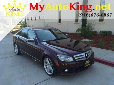 2009 Mercedes-Benz C-Class for sale at Auto King in Roseville CA