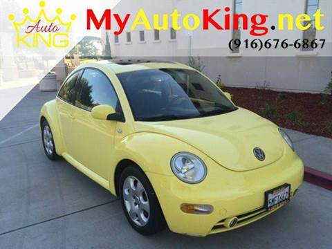 2002 Volkswagen New Beetle for sale at Auto King in Roseville CA