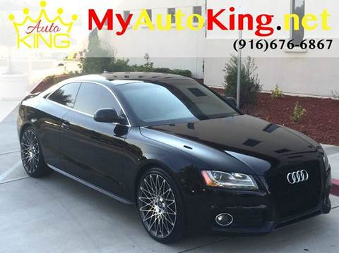 2009 Audi A5 for sale at Auto King in Roseville CA