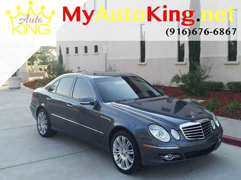 2008 Mercedes-Benz E-Class for sale at Auto King in Roseville CA