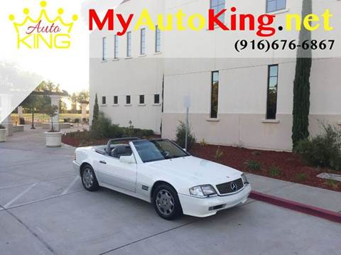 1994 Mercedes-Benz SL-Class for sale at Auto King in Roseville CA