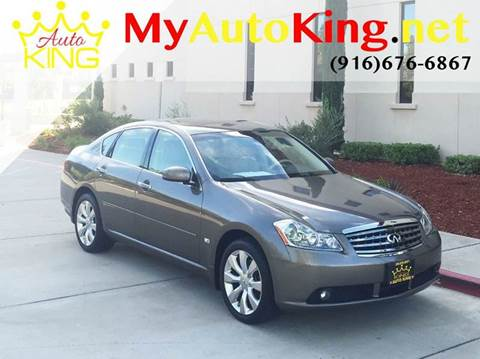 2006 Infiniti M35 for sale at Auto King in Roseville CA