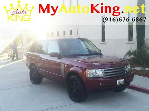 2006 Land Rover Range Rover for sale at Auto King in Roseville CA