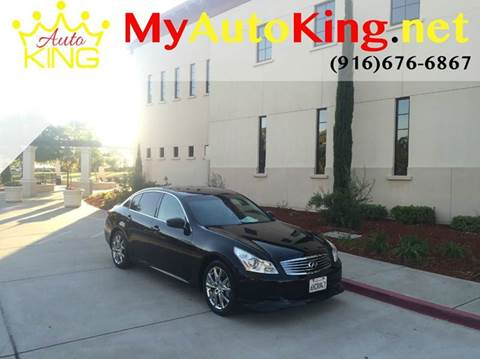 2009 Infiniti G37 Sedan for sale at Auto King in Roseville CA