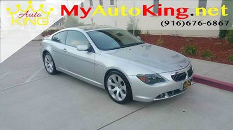 2004 BMW 6 Series for sale at Auto King in Roseville CA