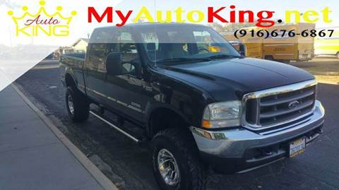 2004 Ford F-250 Super Duty for sale at Auto King in Roseville CA