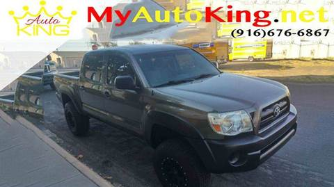 2009 Toyota Tacoma for sale at Auto King in Roseville CA