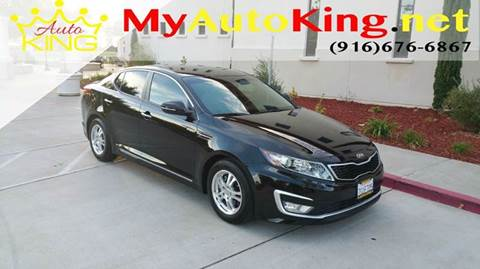2013 Kia Optima Hybrid for sale at Auto King in Roseville CA