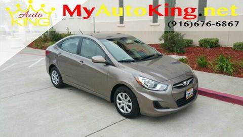 2014 Hyundai Accent for sale at Auto King in Roseville CA