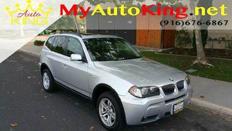 2006 BMW X3 for sale at Auto King in Roseville CA