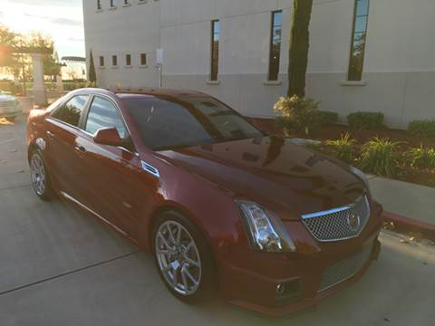 2009 Cadillac CTS-V for sale at Auto King in Roseville CA