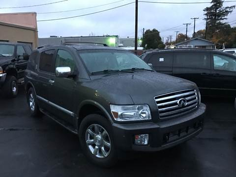 2006 Infiniti QX56 for sale at Auto King in Roseville CA