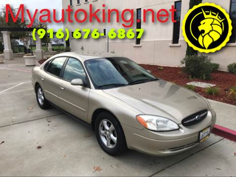 2001 Ford Taurus for sale at Auto King in Roseville CA