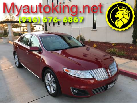 2009 Lincoln MKS for sale at Auto King in Roseville CA