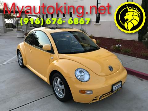 2000 Volkswagen New Beetle for sale at Auto King in Roseville CA