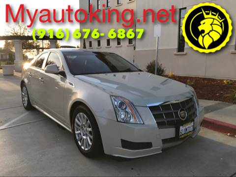 2010 Cadillac CTS for sale at Auto King in Roseville CA