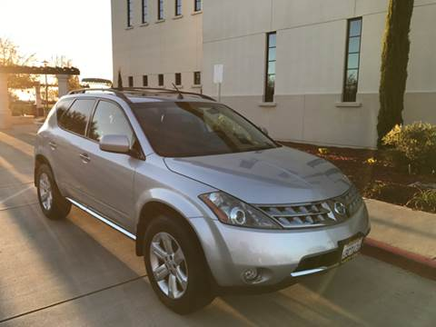 2007 Nissan Murano for sale at Auto King in Roseville CA