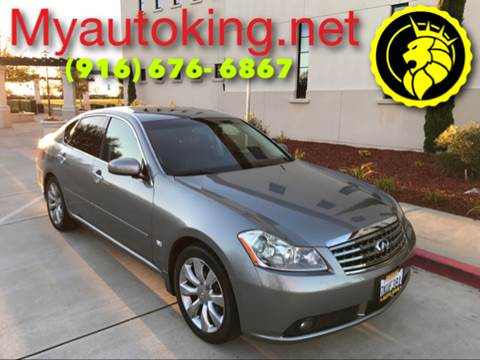 2007 Infiniti M35 for sale at Auto King in Roseville CA