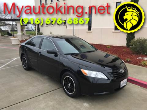 2009 Toyota Camry for sale at Auto King in Roseville CA
