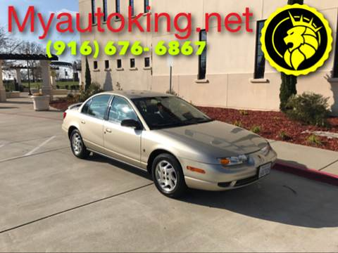 2002 Saturn S-Series for sale at Auto King in Roseville CA