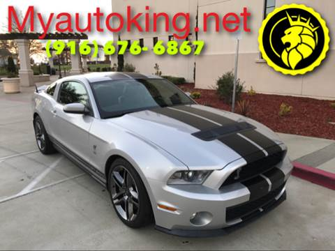 2010 Ford Shelby GT500 for sale at Auto King in Roseville CA