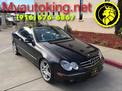 2005 Mercedes-Benz CLK for sale at Auto King in Roseville CA