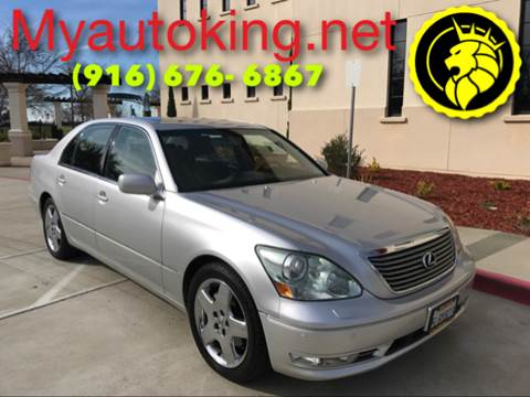 2005 Lexus LS 430 for sale at Auto King in Roseville CA