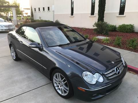 2008 Mercedes-Benz CLK for sale at Auto King in Roseville CA