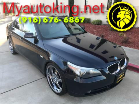 2004 BMW 5 Series for sale at Auto King in Roseville CA