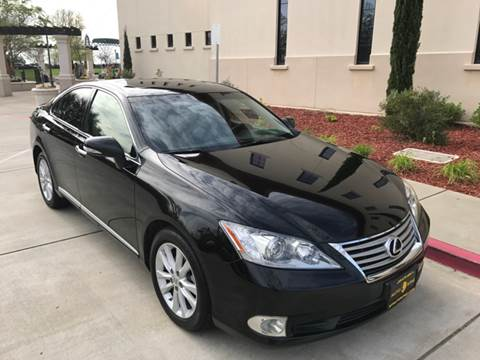 2012 Lexus ES 350 for sale at Auto King in Roseville CA