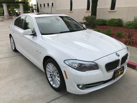 2011 BMW 5 Series for sale at Auto King in Roseville CA