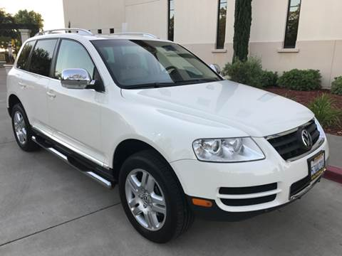 2007 Volkswagen Touareg for sale at Auto King in Roseville CA