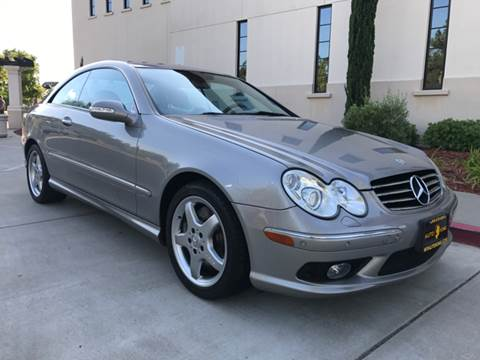2003 Mercedes-Benz CLK for sale at Auto King in Roseville CA