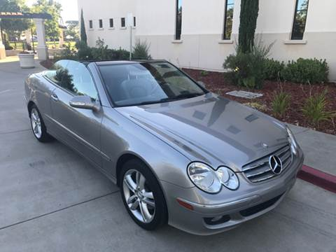 2006 Mercedes-Benz CLK for sale at Auto King in Roseville CA